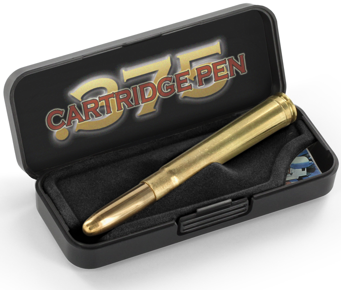 .375 Fisher Space Pen Bullet Open Box