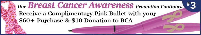 Breast Cancer Promo Continues
