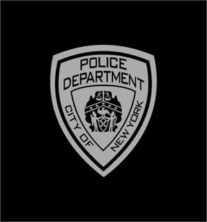 Police Department City of New York725B Logo